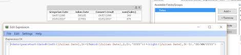 Re Conversion Of Julian Dates In Oracle Qlik Community