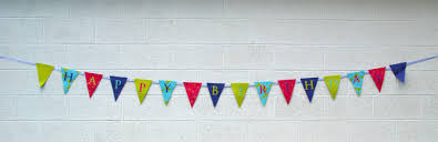 make your own birthday banner how to make a fabric happy birthday banner using a cricut the