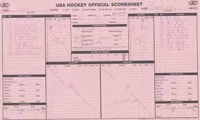 Usa Hockey Scoresheet. Worksheet. Free Printable Worksheets
