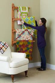 Swinging-Arm Quilt Rack | Quilts | Pinterest | Arms, Quilt display ... & Swinging-Arm Quilt Rack Adamdwight.com