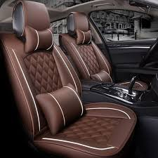 front rear special leather car seat cover auto seats cushion for subaru tribeca