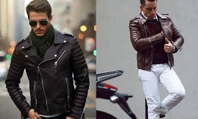 leather jackets require confidence celebrities and rockstars wear them to stand out and make a grungy style statement that said you can find a clean cut