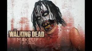 the walking dead inspired zombie makeup tutorial