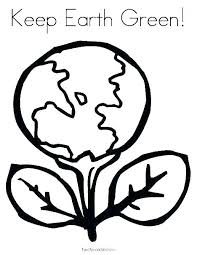 Print Childrens Coloring Pages Kid Coloring Pages Earth Day