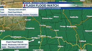 Flash Flood Watch in effect starting ...