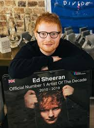 Ed Sheeran Crowned Uks Official Number 1 Artist Of The Decade