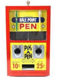 Pen Vending Machine Extraordinary 48A Vintage 'PIK A PEN' Vending Machine