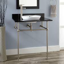 Art Deco Bathroom Accessories Semi Recessed Bathroom Sinks Signature Hardware