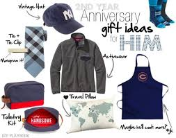 2nd wedding anniversary gift ideas for him her the diy playbolk