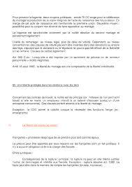 R Sum Sur La Formation Du Mariage Docsity