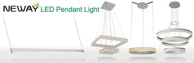 commercial led suspended linear light fixtures
