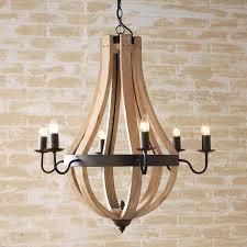 wine barrel chandelier wooden stave barrels chandeliers and