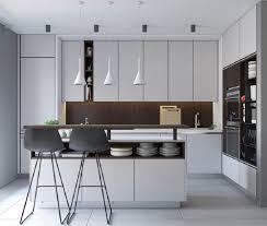 A cozinha pensamos em fazer em toda a extensão uma caixa preta solta do teto, sumindo com a bancada em pedra existente entregue pela construtora, explica a dupla. 94 Modelos De Balcao De Cozinha Para Incluir No Seu Projeto