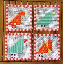Little Bird Quilt Pattern | FaveQuilts.com & Little Bird Quilt Pattern Adamdwight.com