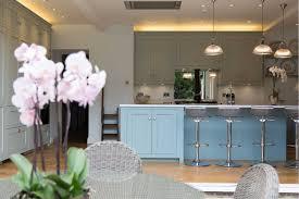 Mood Lighting Kitchen Bespoke Kitchen Orangery Garden And Lighting Project