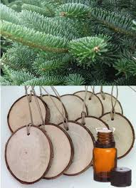 diy homemade diffuser ornaments made with essential oils how cute are these set