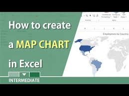 Excel 2016 Map Chart Missing Create A Map Chart In Excel 2016 By Chris Menard Youtube