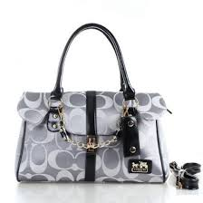 ... Coach Ring Chain Large Grey Satchels FBZ,coach leather purse,online  leading retailer · Coach Legacy Candace In Signature Medium ...