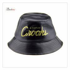 china fashion pu leather bucket hats winter hat fisherman hat china bucket hat hat