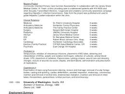 Physician Assistant Resume Elegant Sample Resumes Images Of A ...