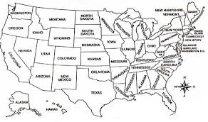 Usa Map Coloring Page United States Map Coloring Page Funycoloring