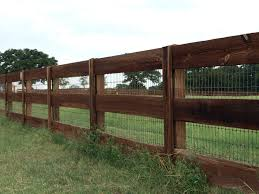 Fences of Texas Boerne Wooden Rail Fences Moeller Ranch