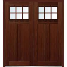 double front doors. 72 In. X 80 Shaker Left-Hand Inswing 6-Lite Clear Double Front Doors I