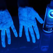 Do Black Lights Show Germs Glitter Bug Lotion Steve Spangler Science