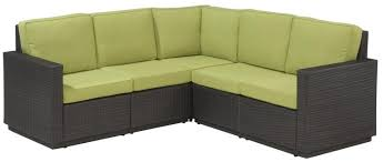furniture is of an excellent quality and the wicker color is beautiful especially in contrast with