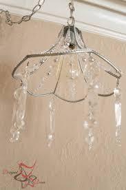 diy crystal chandelier designed decor make a crystal chandelier