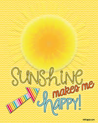 Sunshine And Happiness Quotes