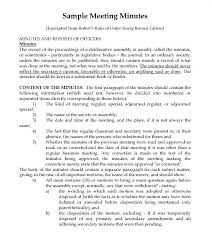 sample of minutes taken at a meeting meeting notes format template meeting format template