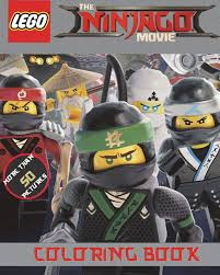Lego The Ninjago Movie Coloring Book Over 50 Action Packed Lego