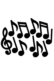 D Corations 12 Notes Musique Noires Fiesta Magic