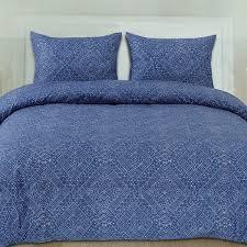 Blue Pattern Duvet Cover Cool Decorating Ideas