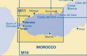 Bluewater Books Charts Imr M11 Gibraltar To Cabo De Gata