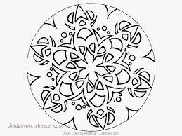 Free Mandala Coloring Pages For Adults New Free Mandala Coloring
