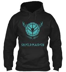 From T-shirts Lagertha Shield Teespring Vikings Hoodies Shieldmaiden Maiden - Products