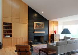 portland mid century modern furniture. Mid Century Modern Ranch Remodel Living Room Portland Mantle Furniture