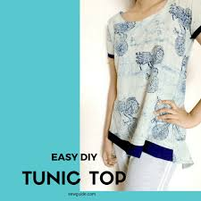 Tunic Pattern Free Classy Sew A Simple TUNIC Top Dress With FREE DIY Pattern Sew Guide