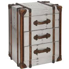 industrial style bedroom furniture. Industrial Style Aluminium Effect 3 Drawer Storage Chest Bedroom Furniture