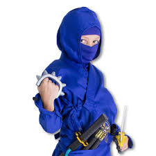 Ninja Suit Size Chart Frost Ninja Costume