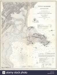 Lynn Harbor Massachusetts English A Rare 1859 U S Coast