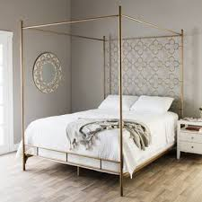 wrought iron canopy bed frame suitable combine with platform canopy ...
