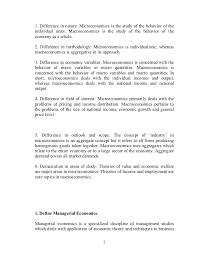 economics assignment managerial economics answers for students worl  1 2 1