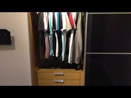 ikea pax wardrobe with sliding doors komplement led lighting and soft closing hinges