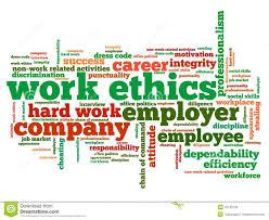 work ethics stock illustration image  work ethics