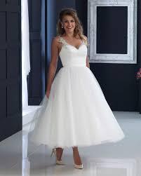 tea length wedding dresses 50 s short wedding dress