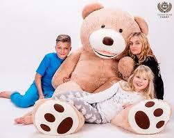 <b>GIANT LARGE BIG HUGE TEDDY</b> BEAR XXL <b>160cm 200cm</b> 270cm ...