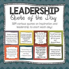 Quotes On Leadership Cool LEADERSHIP Quote Of The Day Fall Colors By LindyLane TpT